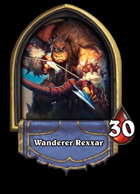Wanderer Rexxar Card Image