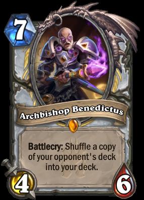 Archbishop Benedictus Card Image