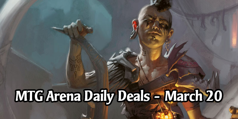Daily Store Deals in MTG Arena for March 20, 2020 - 80% Off Domri Rade Portrait