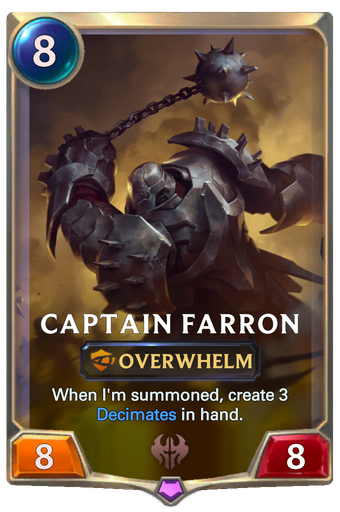 Captain Farron Card Image