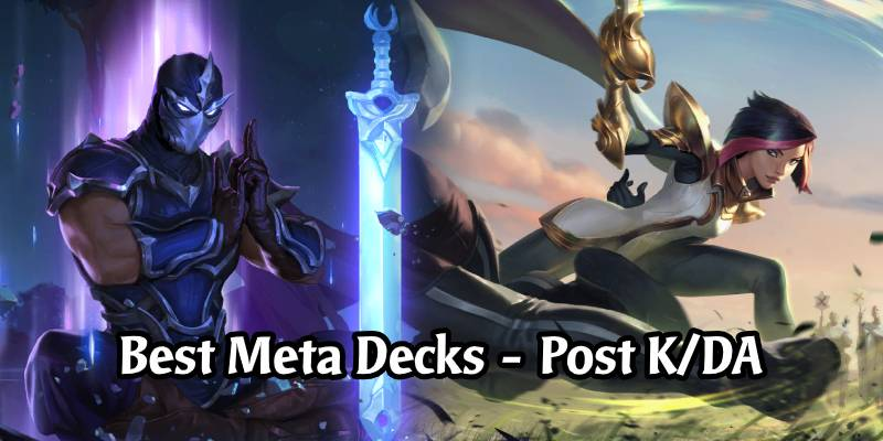 The Best Decks by Winrate and Playrate in Legends of Runeterra - Riot's Meta Snapshot