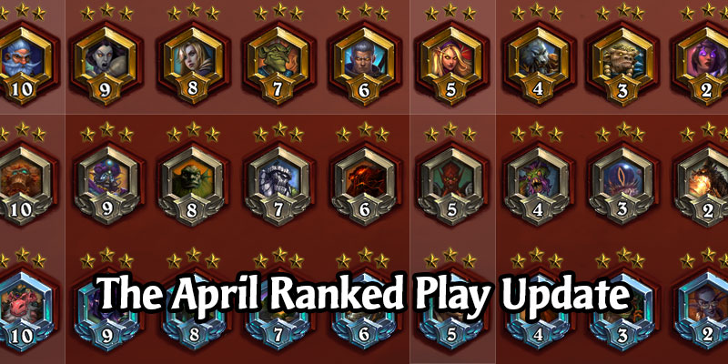 Tomorrow, April 1, Hearthstone's Ranked Play Gets an Overhaul - Leagues, Stars, and Rewards Explained