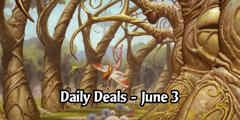 Gaea's Cradle Exquisite Sleeve is 50% Off - MTG Arena Daily Deals for June 3, 2020