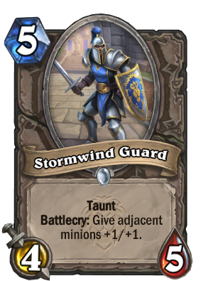 Stormwind Guard Card Image