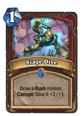 Stage Dive Card Image