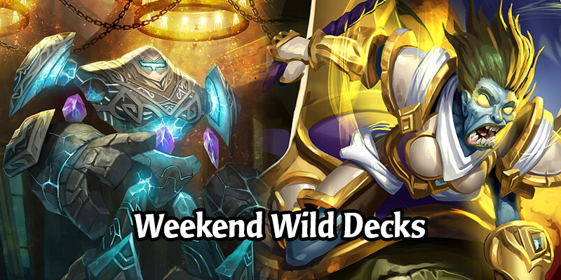 A Wild Hearthstone Weekend Featuring Menagerie Paladin, Silas OTK Warrior, Highlander Hunter, and More!