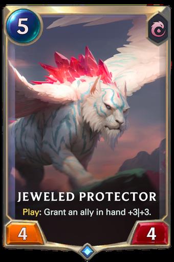 Jeweled Protector Card Image