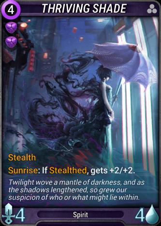 Thriving Shade Card Image