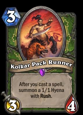 Kolkar Pack Runner Card Image