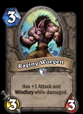 Raging Worgen Card Image