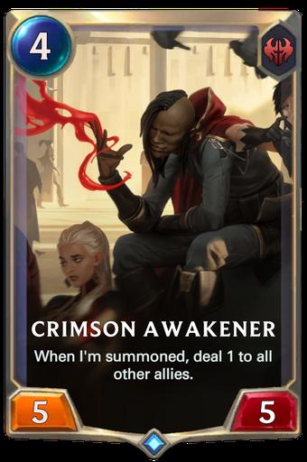 Crimson Awakener Card Image