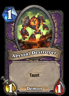Abyssal Destroyer Card Image