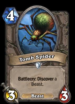 (4) Tomb Spider