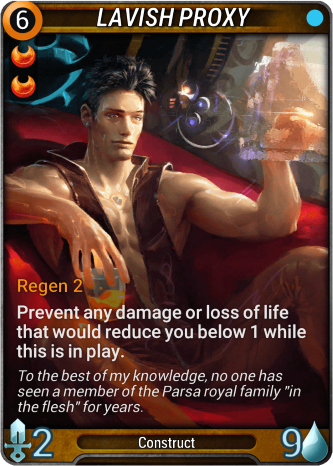 Lavish Proxy Card Image