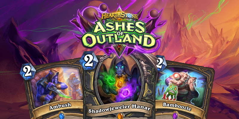 Our Thoughts on Hearthstone's Ashes of Outland Rogue Cards