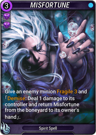 Misfortune Card Image