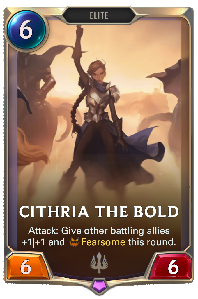 Cithria the Bold Card Image