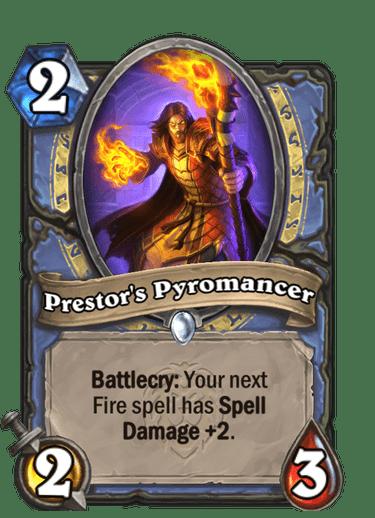 Prestor's Pyromancer Card Image