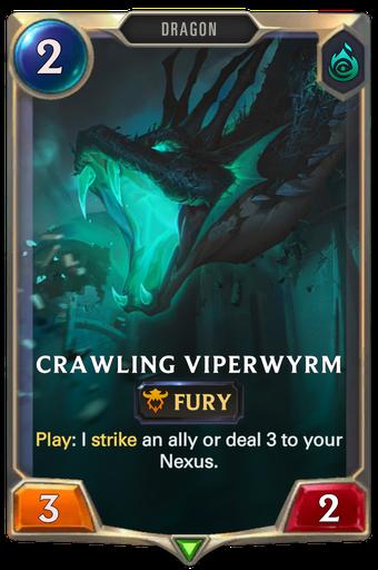Crawling Viperwyrm Card Image