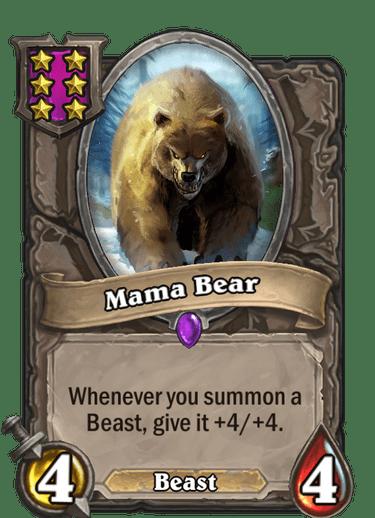 Mama Bear Card Image