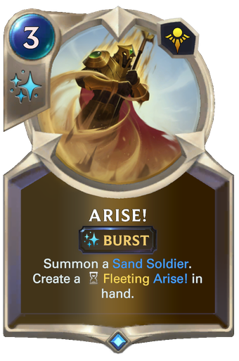 Arise! Card Image