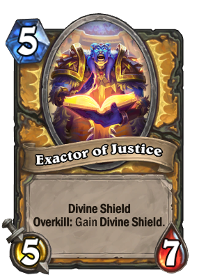 Exactor of Justice Card Image