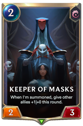 Keeper of Masks Card Image
