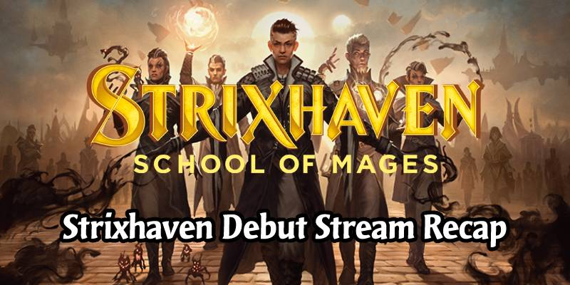 Everything We Know About MTG's Strixhaven Set from the Debut Stream