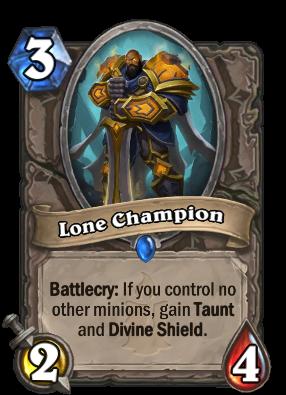 (3) Lone Champion