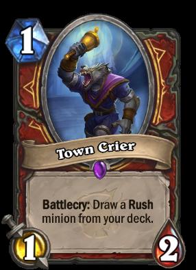 Town Crier Card Image