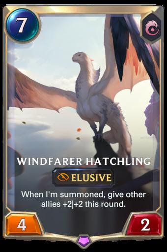 Windfarer Hatchling Card Image
