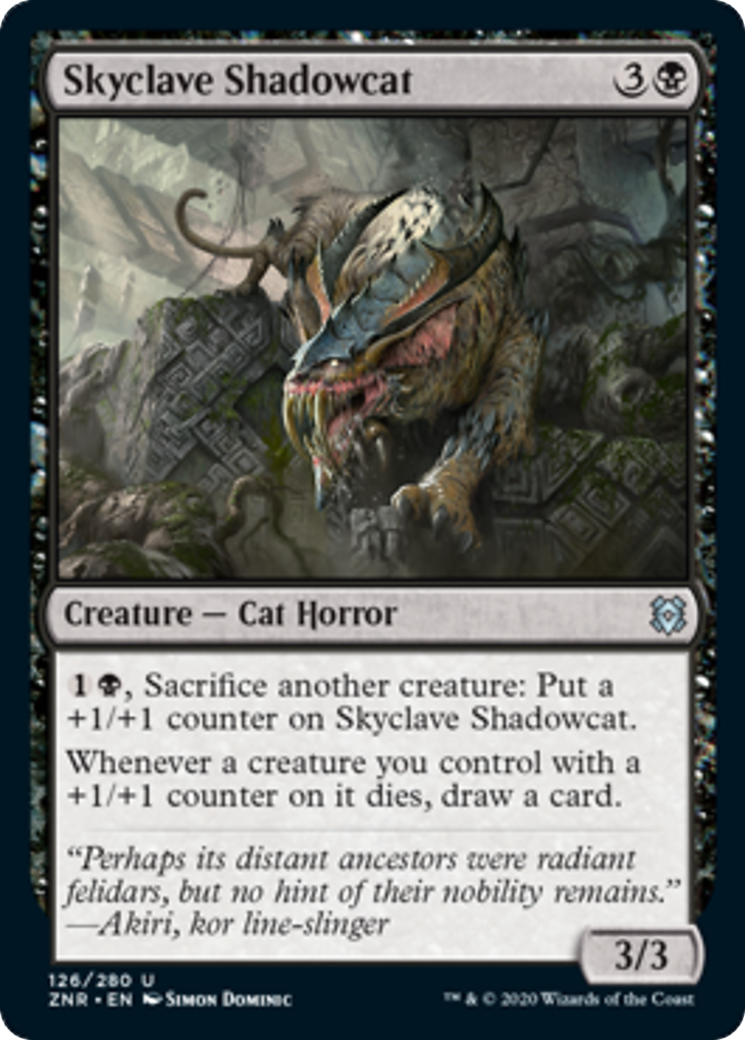 Skyclave Shadowcat Card Image