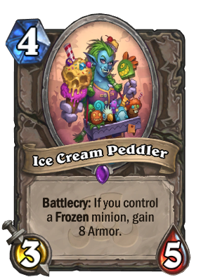 Ice Cream Peddler Card Image