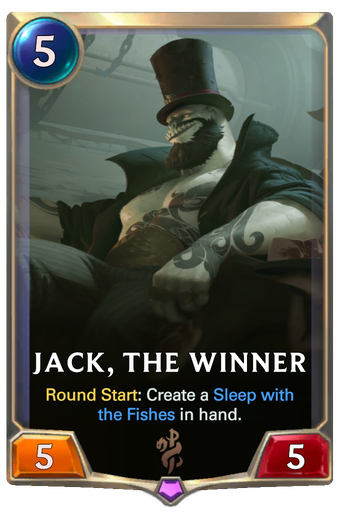 Jack, the Winner Card Image
