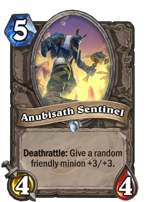 (5) Anubisath Sentinel