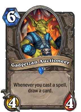 Gadgetzan Auctioneer Card Image