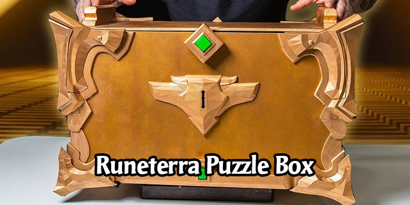 A Real-Life Legends of Runeterra Chest! Solving a One-Of-A-Kind Puzzle Box