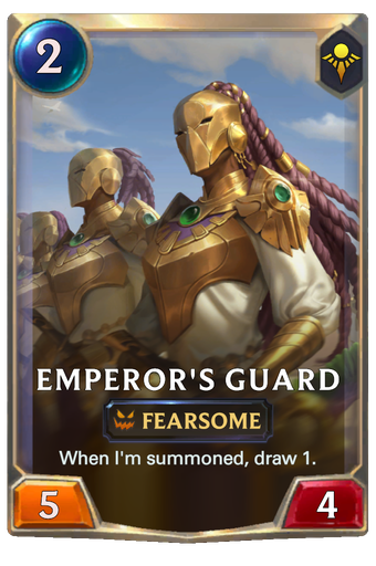 Emperor's Guard Card Image