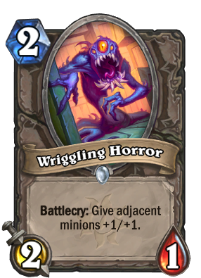 Wriggling Horror Card Image