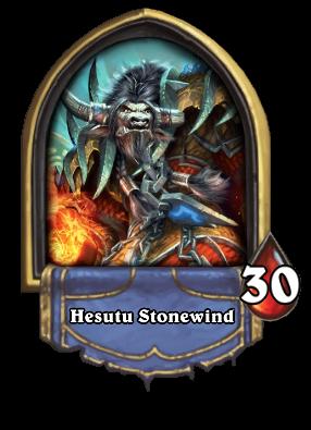 Hesutu Stonewind Card Image