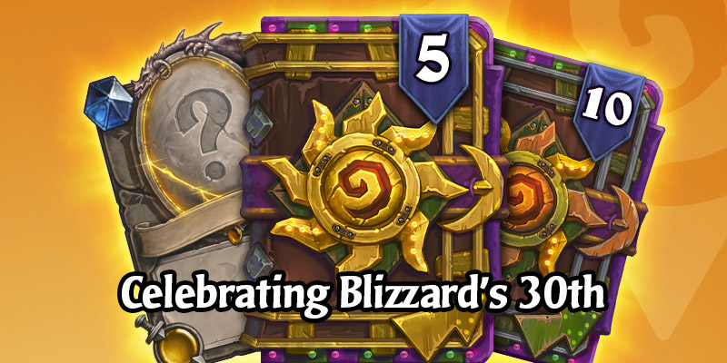 Celebrating Blizzard's 30th Anniversary with the Celebration Collection Bundles - Golden Darkmoon Faire Packs!