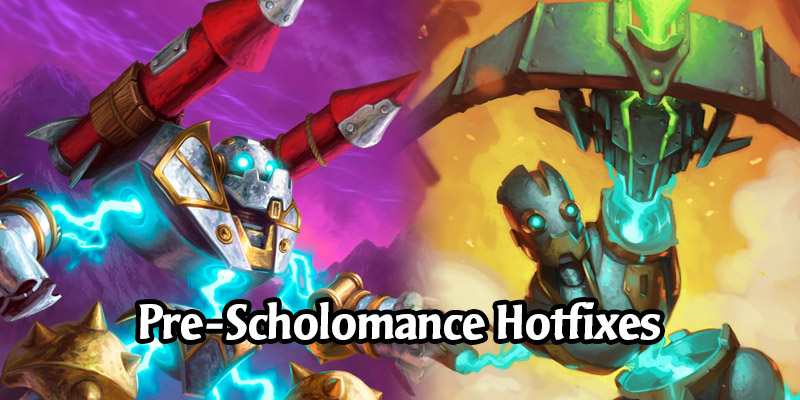 Hearthstone Hotfixes - Game Disconnects, Transfer Student, and Mr. Bigglesworth Battlegrounds Bugs