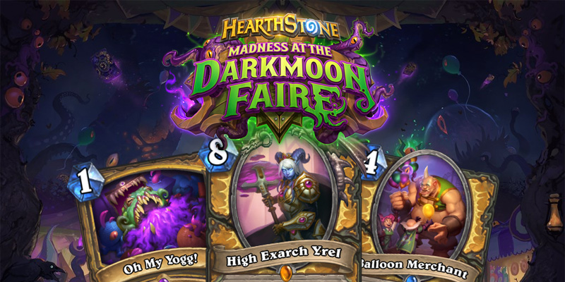 Our Thoughts on Hearthstone's Madness at the Darkmoon Faire Paladin Cards