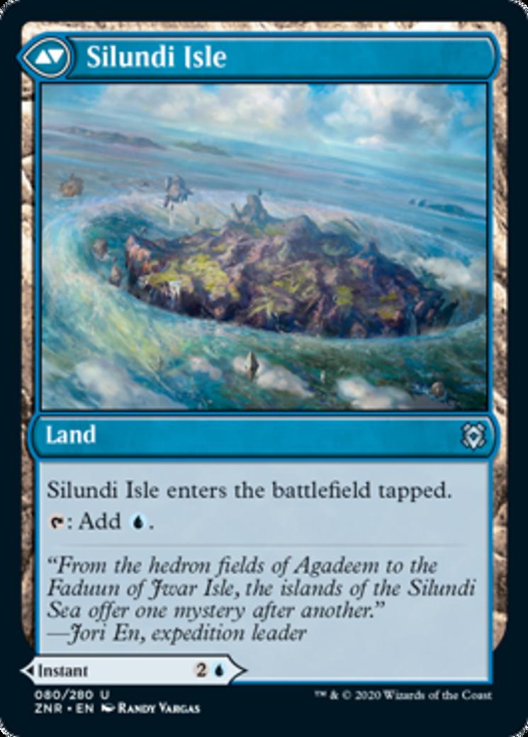 Silundi Vision // Silundi Isle Card Image