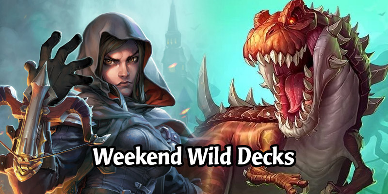 Weekend Wild Hearthstone Decks - Quest Hunter, Spell Damage Mage, Big Demon Hunter, & More!