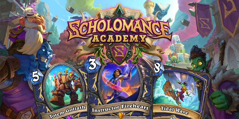 Our Thoughts on Hearthstone's Scholomance Academy Shaman Cards