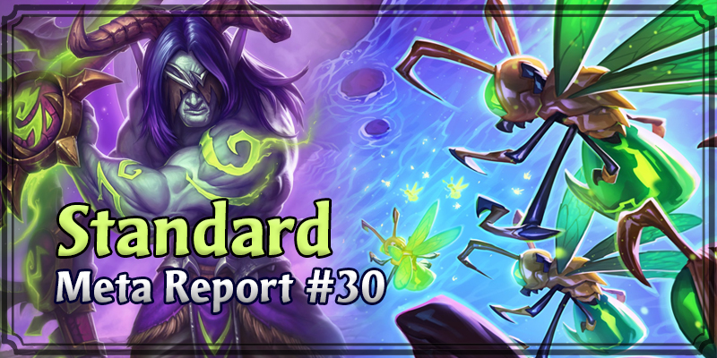 Standard Meta Report #30 - Top Hearthstone Decks April 12, 2020 - April 19, 2020