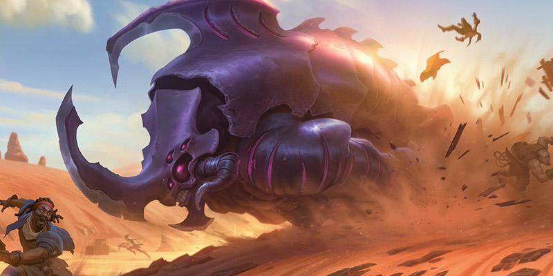 4 New Shurima Cards for Runeterra's Rise of the Underworlds Expansion Revealed!