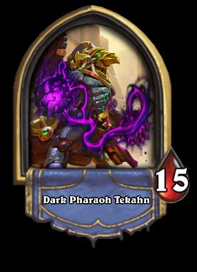 Dark Pharaoh Tekahn Card Image