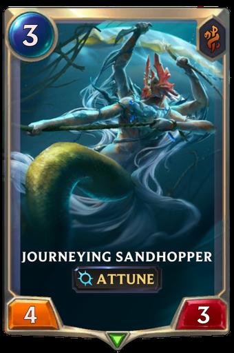 Journeying Sandhopper Card Image